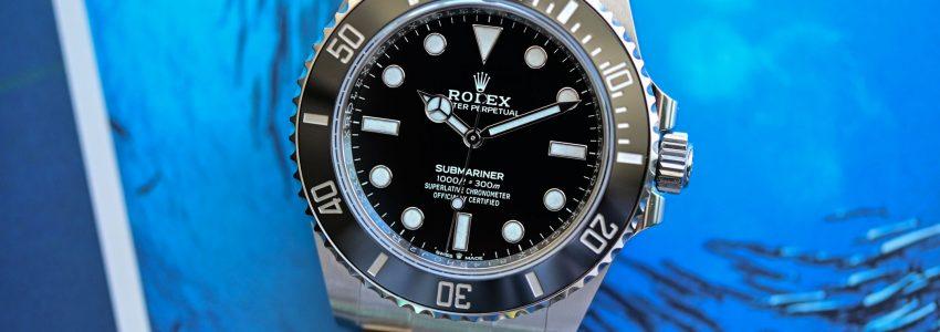 ロレックスN級品 サブマリーナ 124060 新品カレンダーレス アクアマン